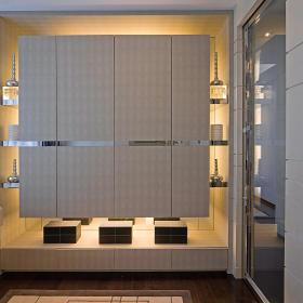 现代简约储物间设计方案