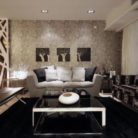 现代简约客厅沙发案例展示