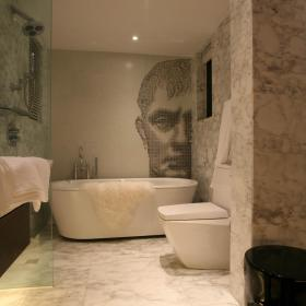 浴室淋浴房效果图