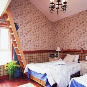 田园卧室效果图