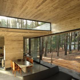田园后现代客厅装修效果展示