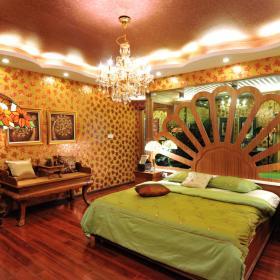 东南亚卧室装修案例