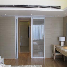 现代简约卧室收纳装修效果展示