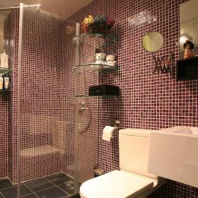 现代简约卫生间浴室淋浴房设计图