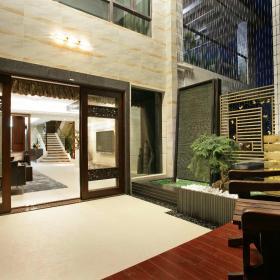 新中式阳台设计图