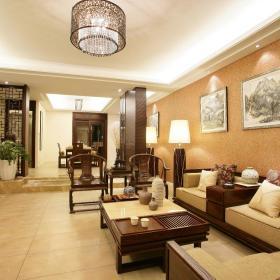 中式客厅沙发设计案例展示