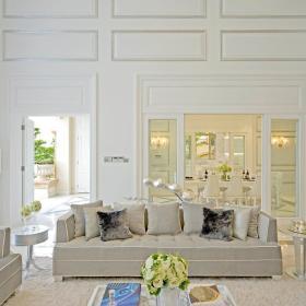 欧式客厅别墅装修效果展示