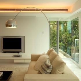 现代简约客厅沙发装修效果展示
