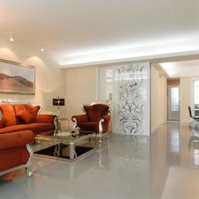 简欧客厅设计案例