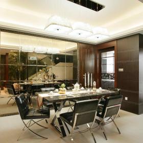 现代简约欧式简欧餐厅装修案例