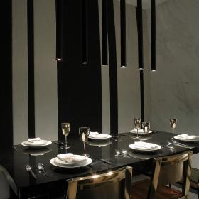 欧式简欧餐厅设计方案
