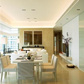 现代简约欧式简欧餐厅效果图