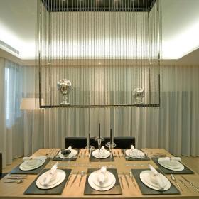 现代简约欧式简欧餐厅装修效果展示