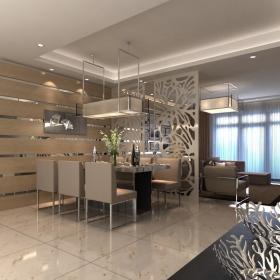 现代简约清新现代简约客厅隔断隔断门玻璃门设计图