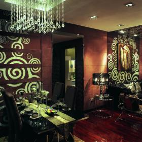 现代简约混搭后现代餐厅设计案例展示