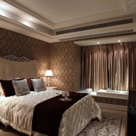 欧式卧室飘窗&落地窗图片