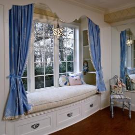 地中海简欧飘窗&落地窗设计案例