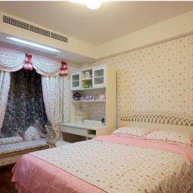 现代简约田园卧室装修案例