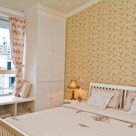 现代简约田园简欧卧室飘窗&落地窗设计案例