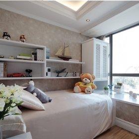 现代简约儿童房飘窗&落地窗装修案例