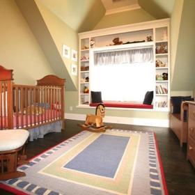 混搭儿童房飘窗&落地窗设计案例展示