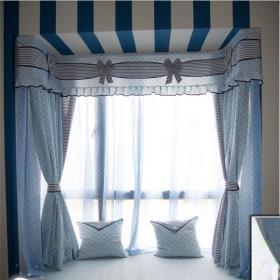 现代简约地中海飘窗&落地窗设计案例展示
