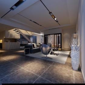 现代简约后现代创意客厅图片