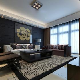 现代客厅--高清效果图-20141 (170)