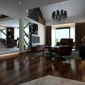 现代简约新古典客厅装修图
