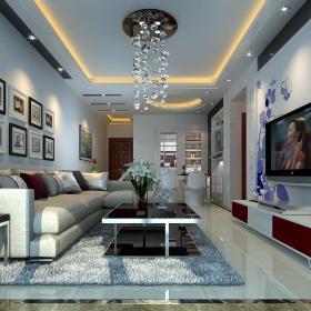 现代简约新古典客厅装修效果展示