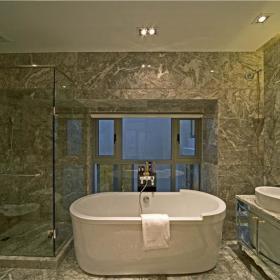 欧式简欧浴室效果图