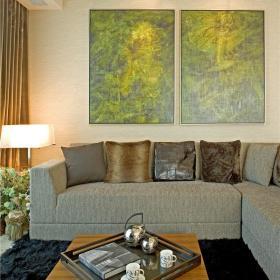 现代简约客厅沙发设计案例展示