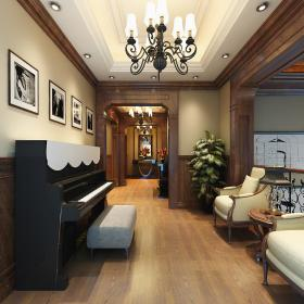 欧式客厅--高清效果图-欧式 (531)