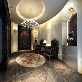 欧式玄关玄关柜设计图