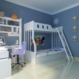 创意卧室儿童房设计图