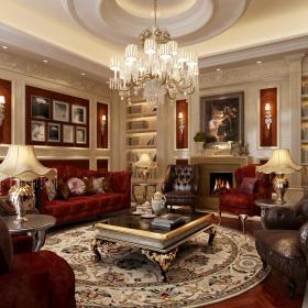 欧式客厅装修案例