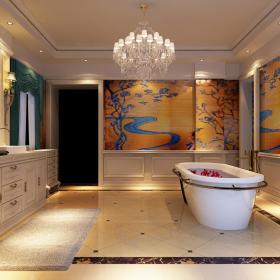 欧式客厅--高清效果图-欧式 (621)