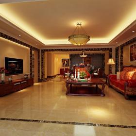 欧式客厅--高清效果图-欧式 (513)