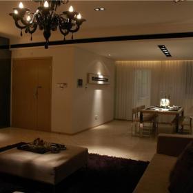 现代简约客厅餐厅沙发装修案例