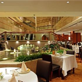 新中式餐厅酒店效果图