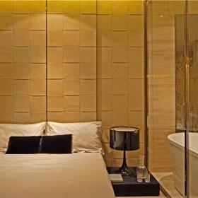 现代简约卧室浴室设计方案