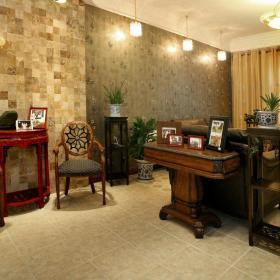 混搭复古创意书房设计案例