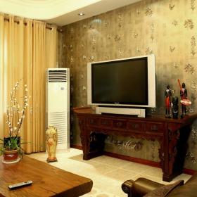 中式复古客厅设计方案