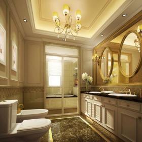 欧式卫生间设计案例展示