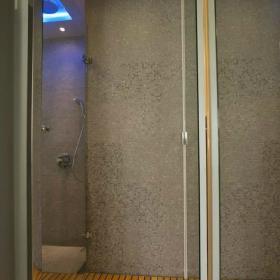 卫浴马赛克木地板设计方案