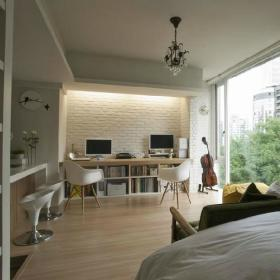 客厅书房墙面设计方案