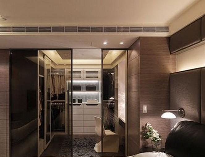 609caoyu   b 专门为长卧室设计的长形衣帽间   长度足够的卧室,利用图片
