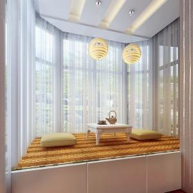 窗帘飘窗&落地窗设计方案