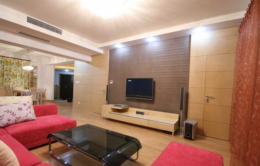 电视背景墙的隐形门怎么设计好看?