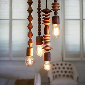 美式灯具装修案例